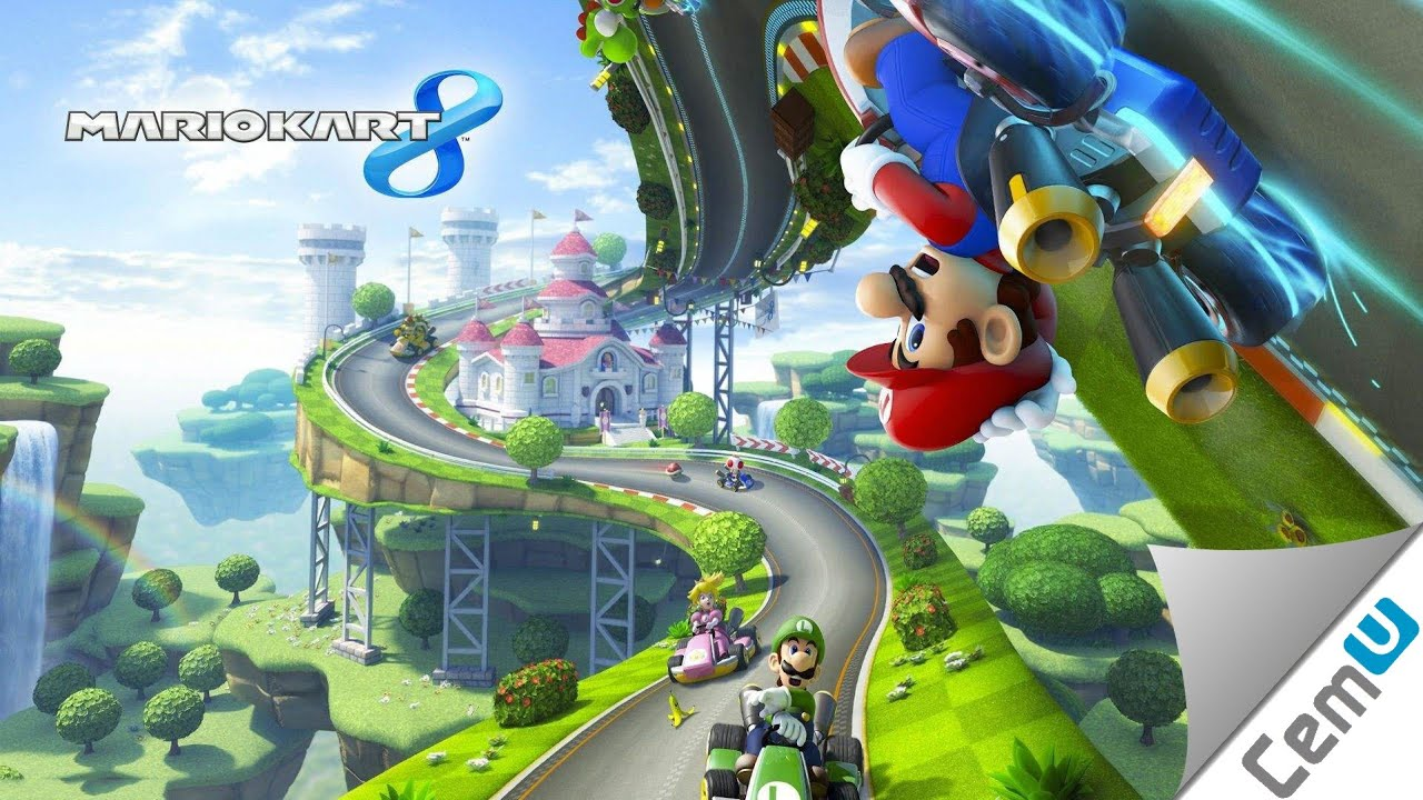 Mario Kart 8 - Wii U - ISO Download | PortalRoms com