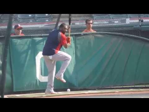 David Ortiz Batting Practice (June.2, 2014 @Progressive Field)