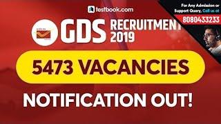 GDS Recruitment 2019   GDS Vacancy 2019 for Andhra Pradesh, Chhattisgarh & Telangana Postal Circle