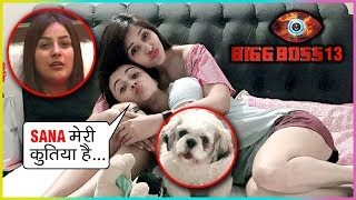 Devoleena & Dalljiet Kaur INSULTS Shehnaz, Calls Their DOG As Shehnaz Gill | Bigg Boss