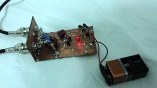 Analizador de antena casero