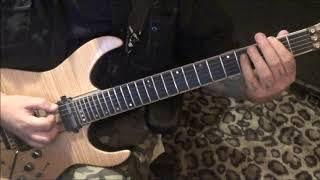 BARREN CROSS - BIGOTRY MAN - CVT Guitar Lesson by Mike Gross