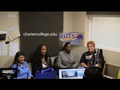 Charter College In Santa Clarita On KHTS