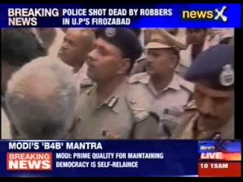 Two cops shot dead in Firozabad by unidentified persons