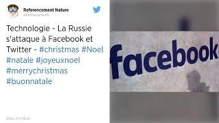 La Russie va imposer une amende à Facebook et Twitter