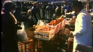 Ridley Road Market, Dalston, Hackney, London, 1980
