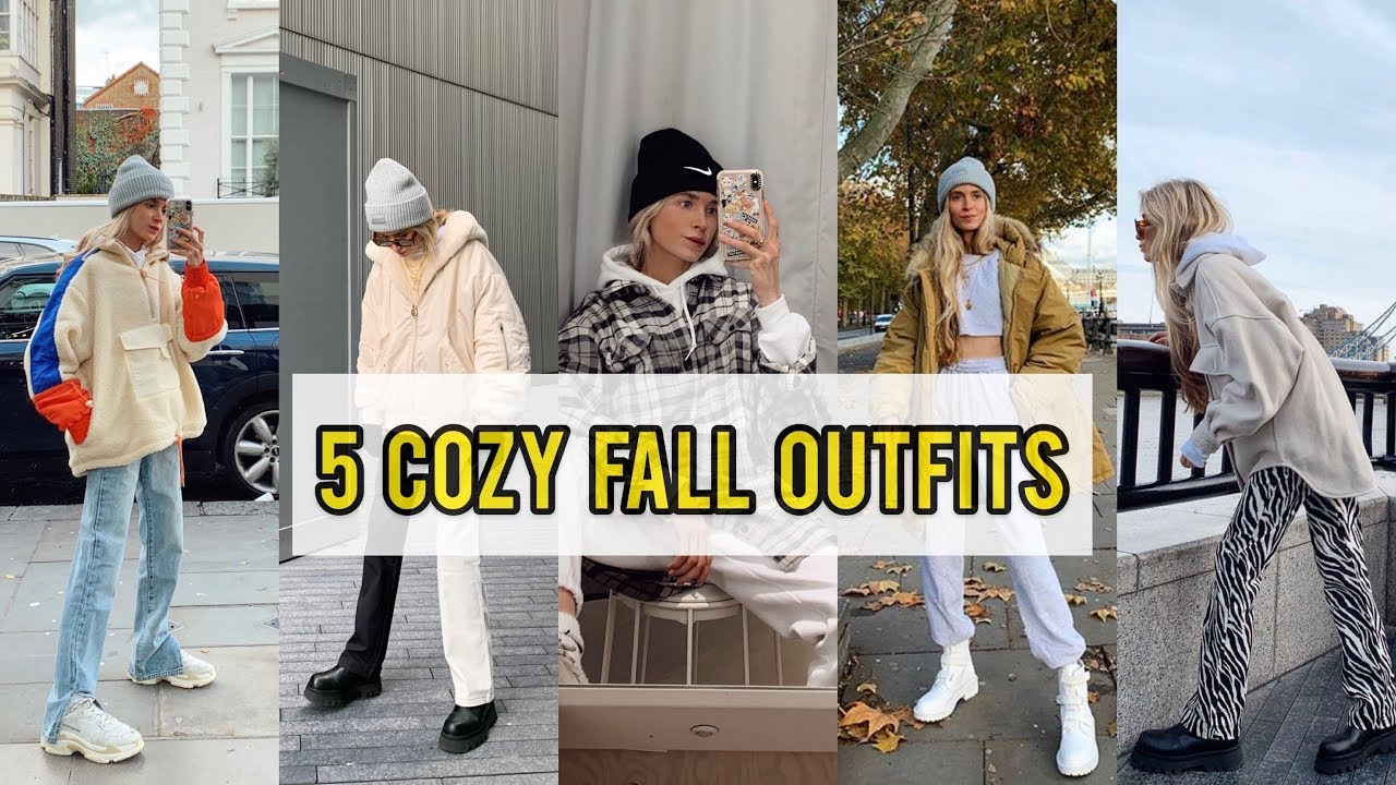 [VIDEO] - 5 Cozy Fall Outfits | 10