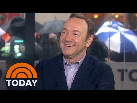 Kevin Spacey: Frank Underwood Would Get Behind Trump 'To Shove Him' | TODAY