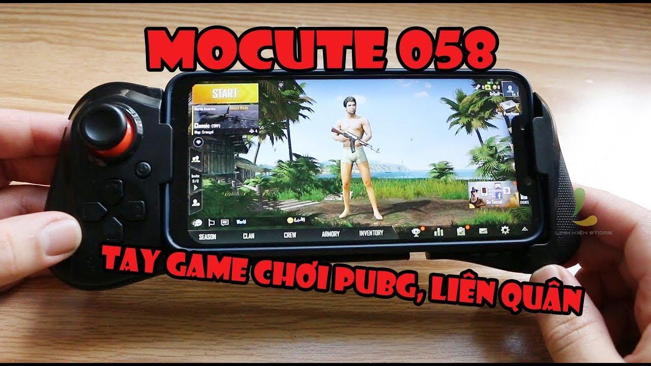 Review Tay cầm một bên Mocute 058 - Chơi PUBG mobile, Liên quân, Free Fire... cực phê