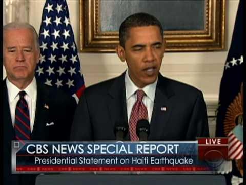 Special Report: Obama on Quake Relief