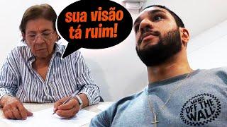 QUASE REPROVEI NO EXAME DE VISTA PRA RENOVAR MINHA HABILITAÇÃO!!!