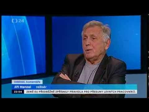 ČT24: Jiří Menzel hiphopuje o potřebnosti cenzury