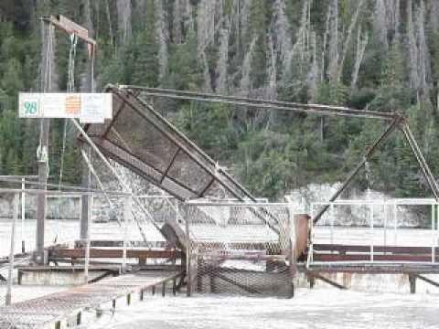 Fish Wheel On The Copper River, Chitina Alaska Part 4