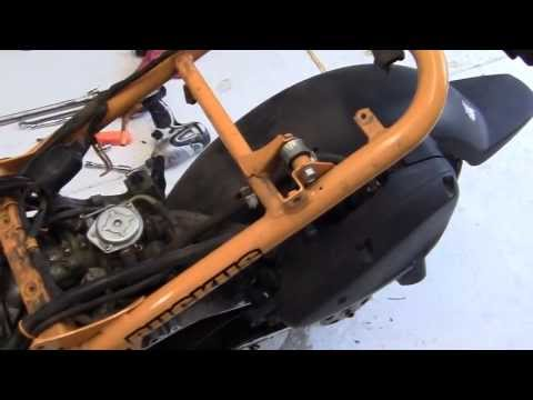 20)- PROJECT Honda RUCKUS - HOW TO= Engine COMPLETE REBUILD
