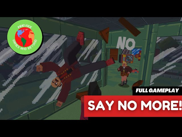 Say No More [2021]   Full Game Playthrough   No Commentary   Steam