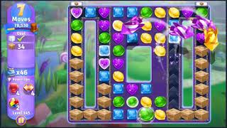 Wonka's World of Candy Level 145 - NO BOOSTERS + FULL STORY ???? | SKILLGAMING ✔️