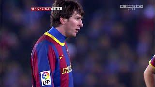 Lionel messi vs espanyol (away) 10-11 hd 720p by irammessitv