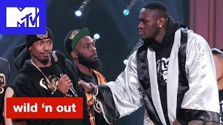 Deontay Wilder Might Beat Up Nick Cannon & Intimidates Hitman Holla | Wild 'N Out | #Wildstyle