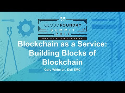 Blockchain as a Service: Building Blocks of Blockchain
