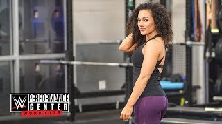 How to build a booty like Vanessa Borne WWE Performance Center Workouts April 26 2018