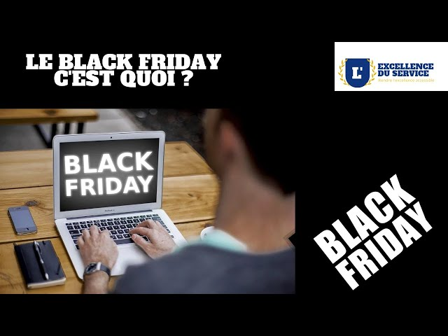 [Moment culture] Le Black Friday, c'est quoi ?
