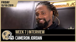 Cam Jordan Talks Saints DLine Ahead of Chicago Bears in Week 7 | New Orleans Saints Football