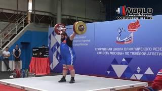 МОГУШКОВ / MOGUSHKOV (105+) 160-175х-180/200-///-///. 09-10.06.2018. Moscow Championship
