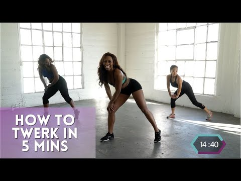 How To Twerk In 5 Minutes |  Tone N Twerk Workout