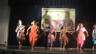 sankranthi 2012 telugu folk dance