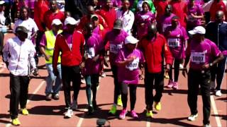 The First Lady's Half Marathon #iambeyondzero