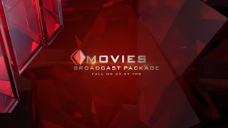 Movies I Broadcast Package | After Effects template