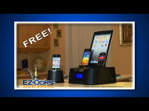 Easy-Dok Multi-Port Smart Phone Charger