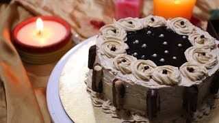 চুলায় তৈরী কফি কেক ।।Coffee cake||How to make Coffee cake||Birthday Cake