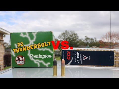 TRUTH about CCI Mini Mag vs Remington Thunderbolts 22 LR Ammo