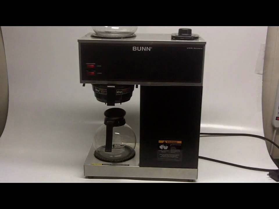 Bunn Coffee Maker Vpr Series