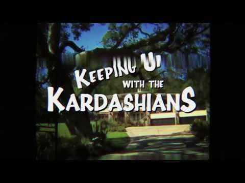 Keeping Up With The Kardashians - 90s Style Sitcom Open