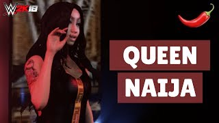 Queen Naija on WWE2K18 | WavyFries