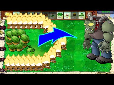 1 Dr. Zomboss Vs 999 Melon Pult Epic Hack Plans Vs Zombies