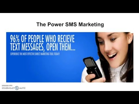 SMS Marketing- Training-Google Voice-2016