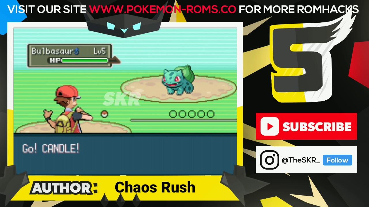 pokemon rom hacks gba files