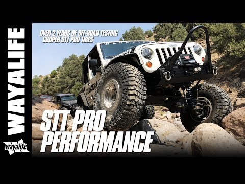 Cooper Tire STT PRO Performance - 2 Years of Jeep Testing out on the Trail