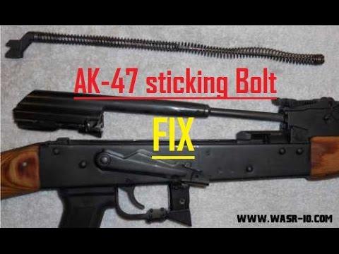 Ak-47 Bolt Sticking? Guide Rail Polishing