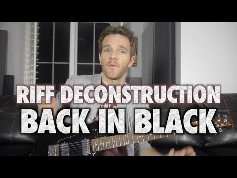Riff Deconstruction: Back in Black