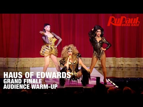 Haus of Edwards Audience Warmup - 12 Days of Crowning: RuPaul