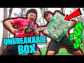 $10,000 IF ANY YOUTUBER CAN BREAK THE BOX!! (UNBREAKABLE ...