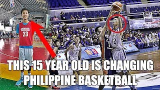 This 15 Year Old is Changing Philippine Basketball