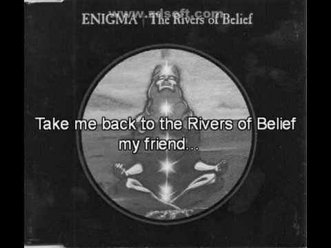 Enigma - The Rivers of Belief (with lyrics)