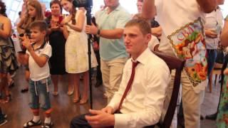 супер сюрприз для жениха от невесты на свадьбе
