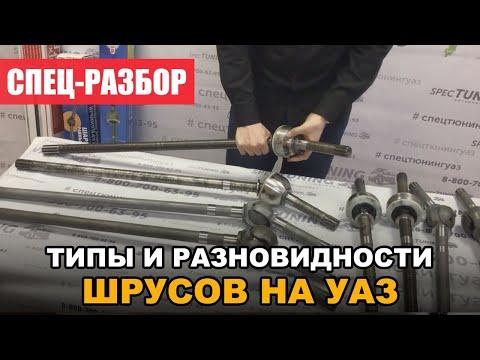 ШРУСа на УАЗ - их разновидности на мост Тимкен