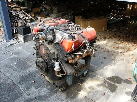 How to Test a Junkyard V8 Engine Part 1